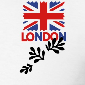 LONDON UK flag Men's Polo Shirt - Men's T-Shirt