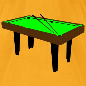 billiard table_b1 Bags  - Men's T-Shirt by American Apparel