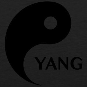 Yang looking for Yin, Part 2, tao, dualities Hoodies - Men's Premium Tank