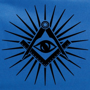 Masonic symbol, all seeing eye, freemason T-Shirts - Computer Backpack