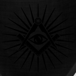 Masonic symbol, all seeing eye, freemason T-Shirts - Bandana