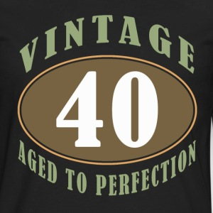 40th Birthday Vintage - Men's Premium Long Sleeve T-Shirt