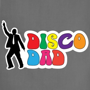 Disco Dad T-Shirts - Adjustable Apron