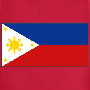 Philippines Flag T-Shirt - Adjustable Apron