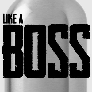 Like A Boss Hoodies - Water Bottle
