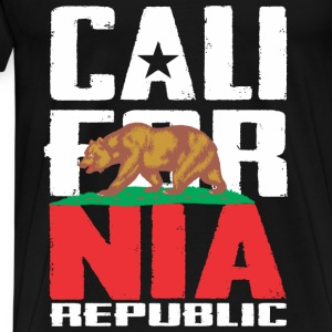 California Republic Long Sleeve Shirts - Men's Premium T-Shirt
