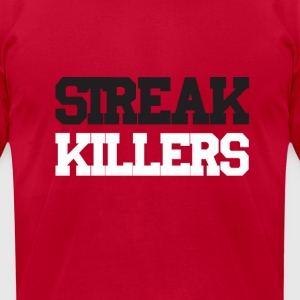 Streak Killers Long Sleeve Shirts - Men's T-Shirt by American Apparel