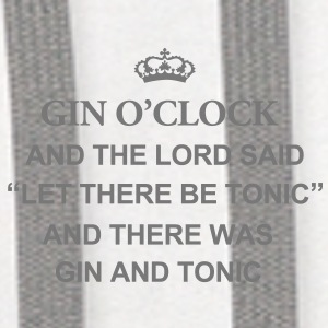 Gin O'Clock And The Lord Said  Mug - Contrast Hoodie