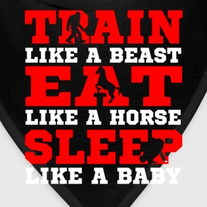 train like a beast - Bandana