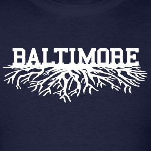 Baltimore Roots Long Sleeve Shirts - Men's T-Shirt