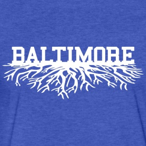 Baltimore Roots Sweatshirts - Fitted Cotton/Poly T-Shirt by Next Level