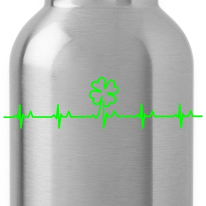 four-leafed clover beat (1c) T-Shirts - Water Bottle