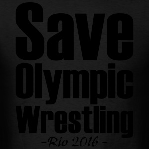 Save Olympic Wrestling Hoodies - Men's T-Shirt