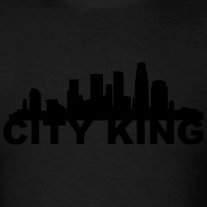 LA City king Long Sleeve Shirts - Men's T-Shirt
