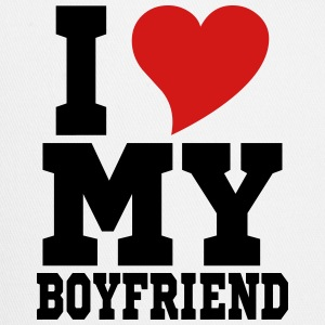 i Love My Boyfriend Hoodies - Trucker Cap
