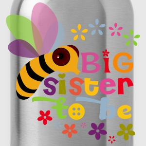 Big Sister to be Kids' Shirts - Water Bottle