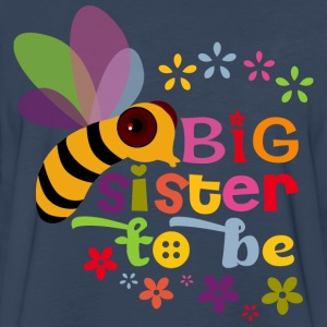 Big Sister to be Kids' Shirts - Men's Premium Long Sleeve T-Shirt