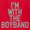 I'm With The Boy Band Kids' Shirts - Kids' T-Shirt