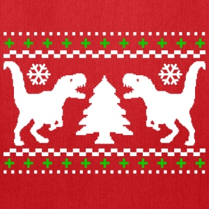 Ugly T-REX Christmas Sweater - Tote Bag