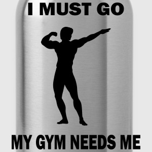Funny Gym Shirt - Mygym T-Shirts - Water Bottle