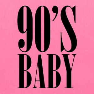 90's BABY Women's T-Shirts - Tote Bag