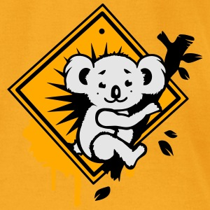 Koala road sign graffiti Bags  - Men's T-Shirt by American Apparel