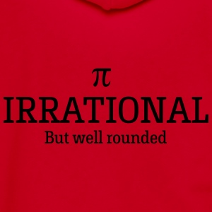 Pi. Irrational but well rounded Women's T-Shirts - Unisex Fleece Zip Hoodie by American Apparel