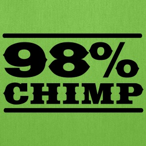 98% Chimp T-Shirts - Tote Bag