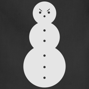 SNOW MAN T-Shirts - Adjustable Apron