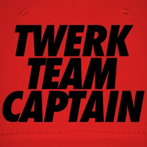 Twerk Team Captain Hoodies - Baseball Cap