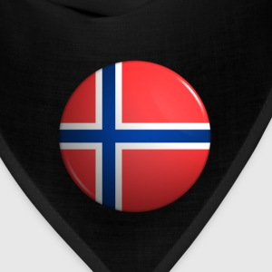 Country Button Flag Norway - Bandana