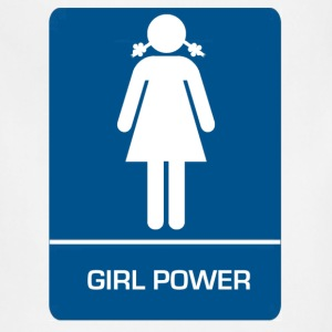 Girl Power Restroom - Adjustable Apron