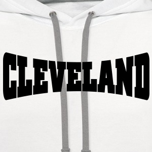 Cleveland - Contrast Hoodie