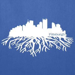 Pittsburgh Skyline Roots T-Shirts - Tote Bag