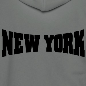 New York - Unisex Fleece Zip Hoodie by American Apparel