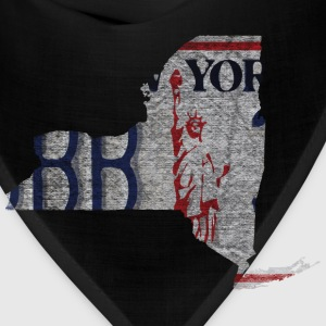 New York State License Plate T-Shirts - Bandana
