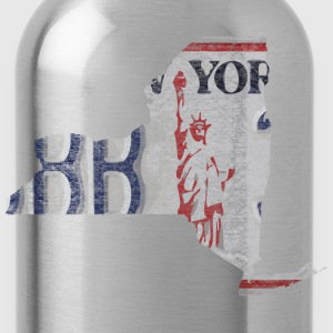 New York State License Plate Hoodies - Water Bottle