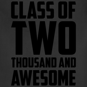 Class of Two Thousand and Awesome T-Shirts - Adjustable Apron