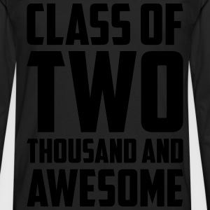 Class of Two Thousand and Awesome T-Shirts - Men's Premium Long Sleeve T-Shirt