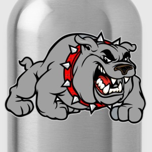 bulldog grey T-Shirts - Water Bottle