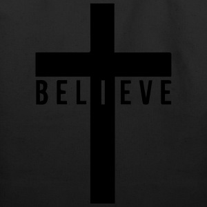 i believe cross Women's T-Shirts - Eco-Friendly Cotton Tote