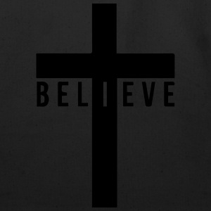 i believe cross Hoodies - Eco-Friendly Cotton Tote