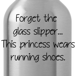 Forget glass slipper Princess wears running shoes  - Water Bottle