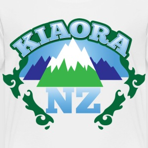 kiaora new ZEALAND NZ with mountains Kids' Shirts - Toddler Premium T-Shirt