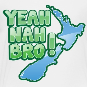 yeah nah bro NEW ZEALAND funny saying Kids' Shirts - Toddler Premium T-Shirt