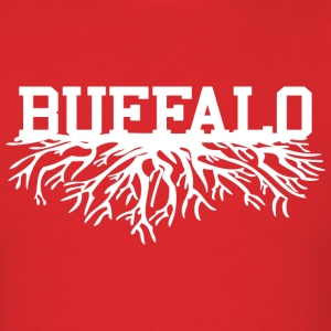Buffalo Roots Buffalo New York Hoodies - Men's T-Shirt