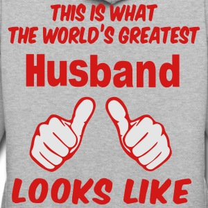 This Is What The World's Greatest Husband Looks Li - Contrast Hoodie