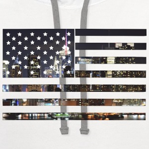 City Flag T-Shirts - Contrast Hoodie