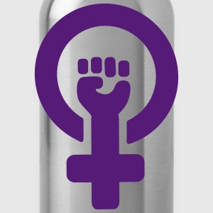 Feminist Symbol T-Shirts - Water Bottle