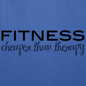 Fitness Cheaper Than Therapy  - Tote Bag